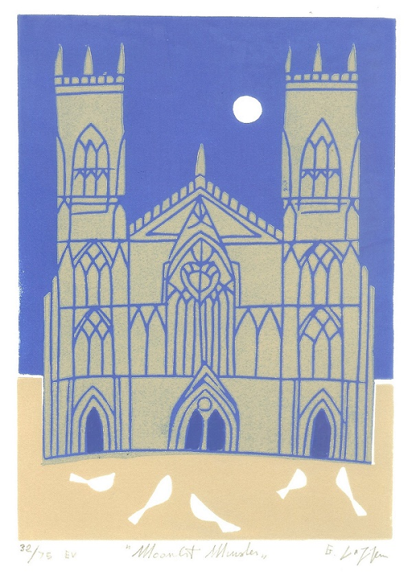 York Minster - Limited Edition Linocut Print
