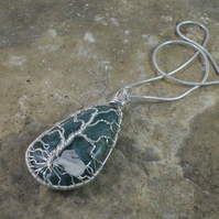 Green Jasper Tree of Life