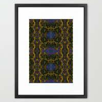 Flow - A3 Art Print - wall art, wall decor, geometric pattern