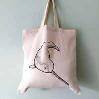Cute Narwhal eco-friendly tote bag - charity donation