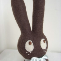 Chocolate Bunnikins Softie