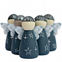 Star Bereavement Gifts Fairy Peg doll