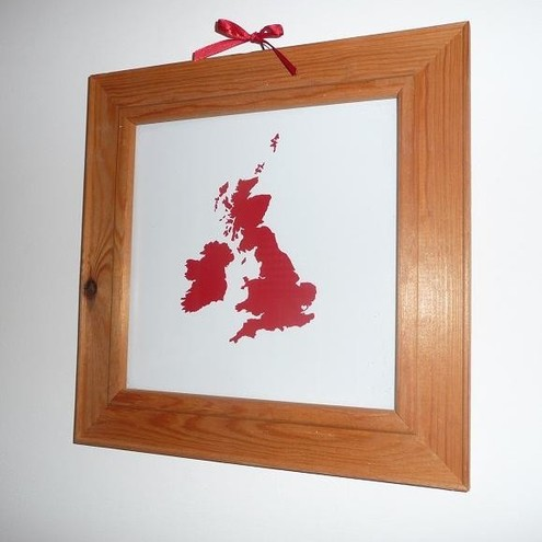 Home is where the heart is UK map