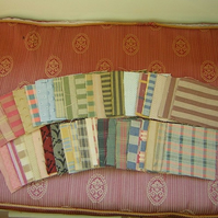 "De-stash bundle of 4"" patchwork squares"