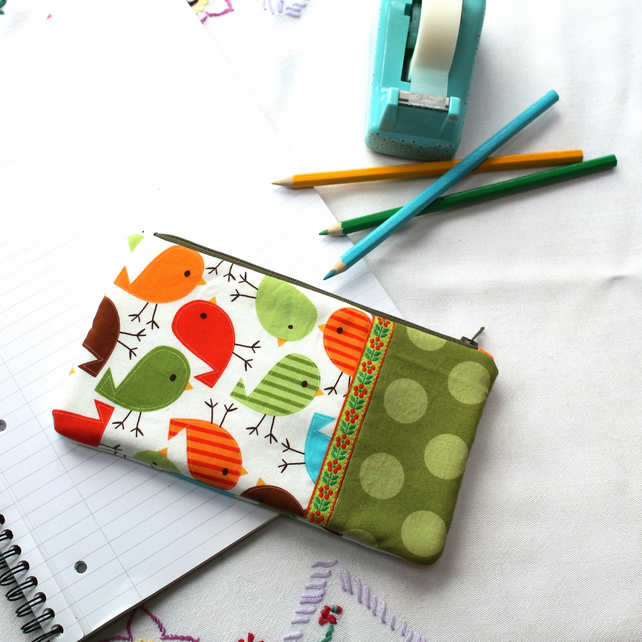 bird pencil case