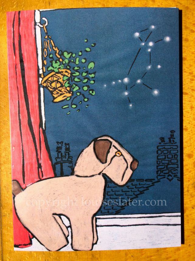 Canis Major Big Dog Greeting Card