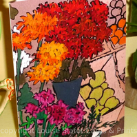 Pack of 5 Flower Cards