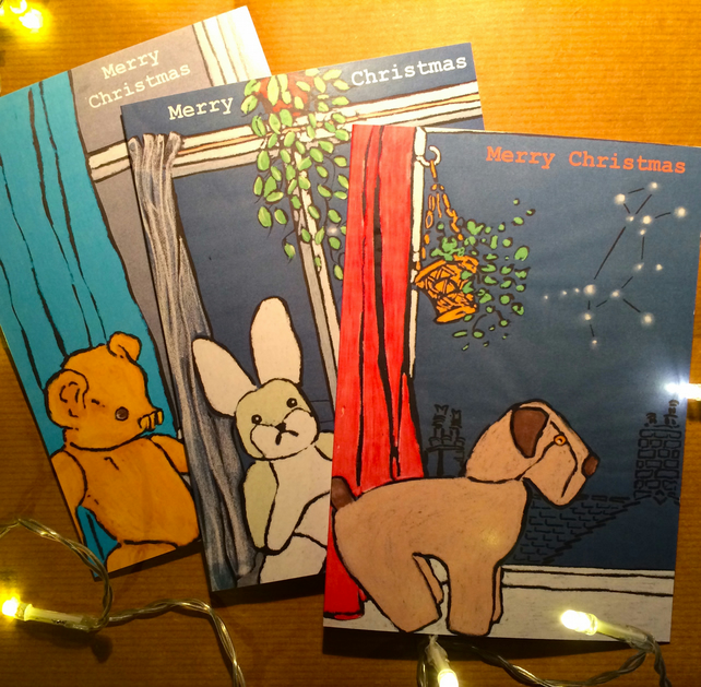 Christmas Constellations Cards -Pk of 6