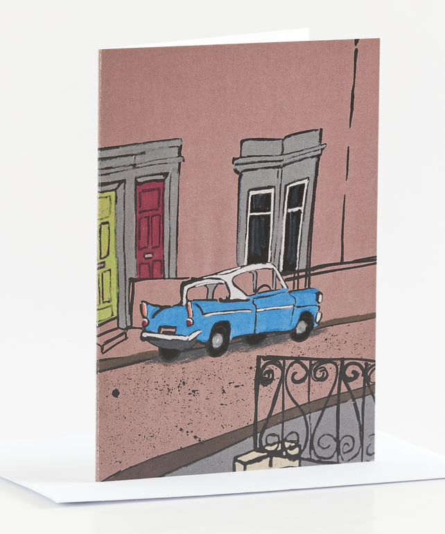Ford Anglia Card