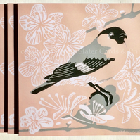 In The Pink Bullfinch Card
