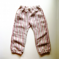 stripe city pant - modern children's trousers made in UK - 2 to 5 years