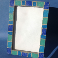 Small Rectangular Photo Frame - Blue 1