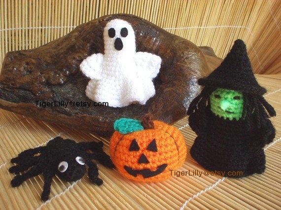 Halloween Crochet Pumpkin Amigurumi - Top Pick For 2017 | 427x570