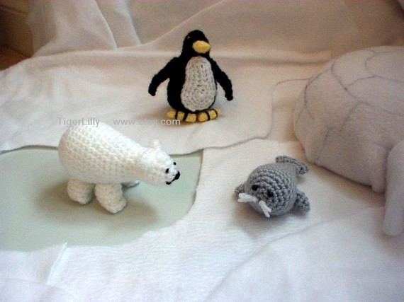 Baby Seal Amigurumi Pattern pattern by Amy Gaines (With images ... | 427x570