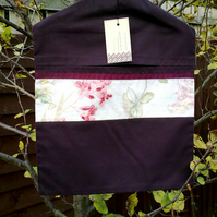 Plum Peg Bag
