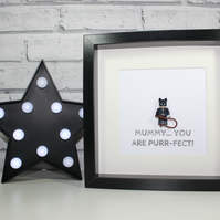 CATWOMAN - FRAMED MINIFIGURE - Mother's Day Special - Mum - Mummy - Awesome gift