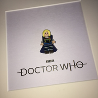 DOCTOR WHO - Framed custom minifigure - Lego - Awesome art work