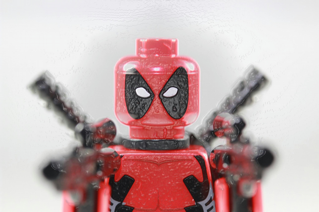 DEADPOOL - Lego minifigure print - 8 x 6