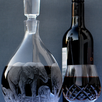 Wine Whisky Crystal Decanter