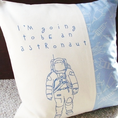 Astronaut Cushion