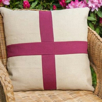 "18"" Luxury cushion with a patriotic theme"