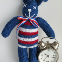 Blue Made In Britain Bunny