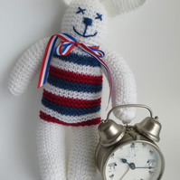 White Made In Britain Bunny