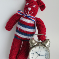 Red Made In Britain Bunny