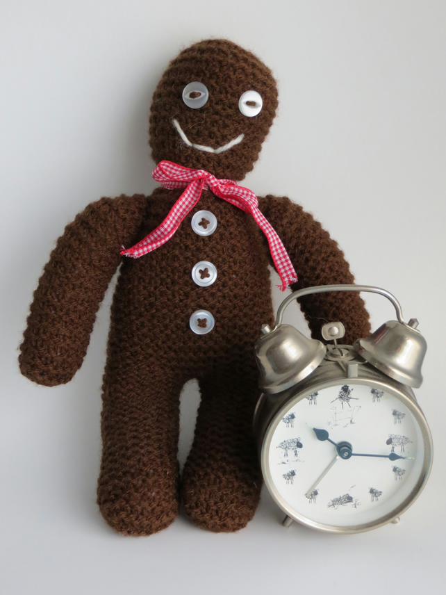 Mr Gingerbread Toy