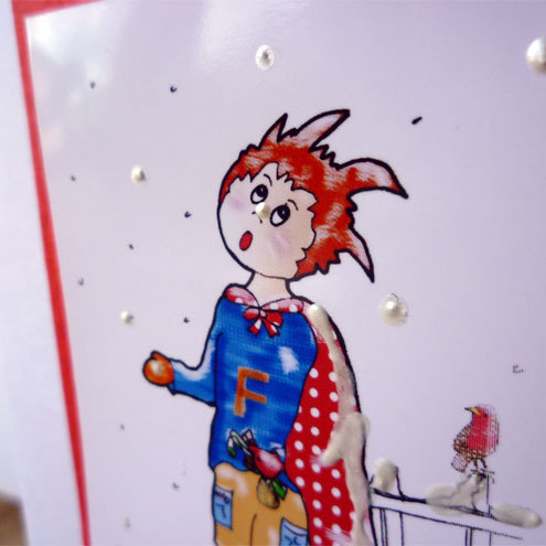 Freddie's snow card (Bessie friends range)