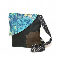 Tropical Travel Crossbody Handbag