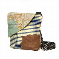 Map Travel Handbag
