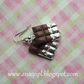 Sweet chocolate dangle long earrings KAWAII gift UK