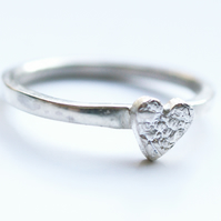 Lace Heart Ring