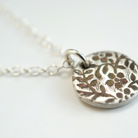 Secret Garden Circle Necklace
