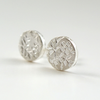 Secret Garden Studs 9mm - gift for her