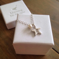 Personalised Initial Star Pendant