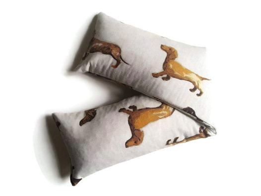 dachshund lavender wheat bag
