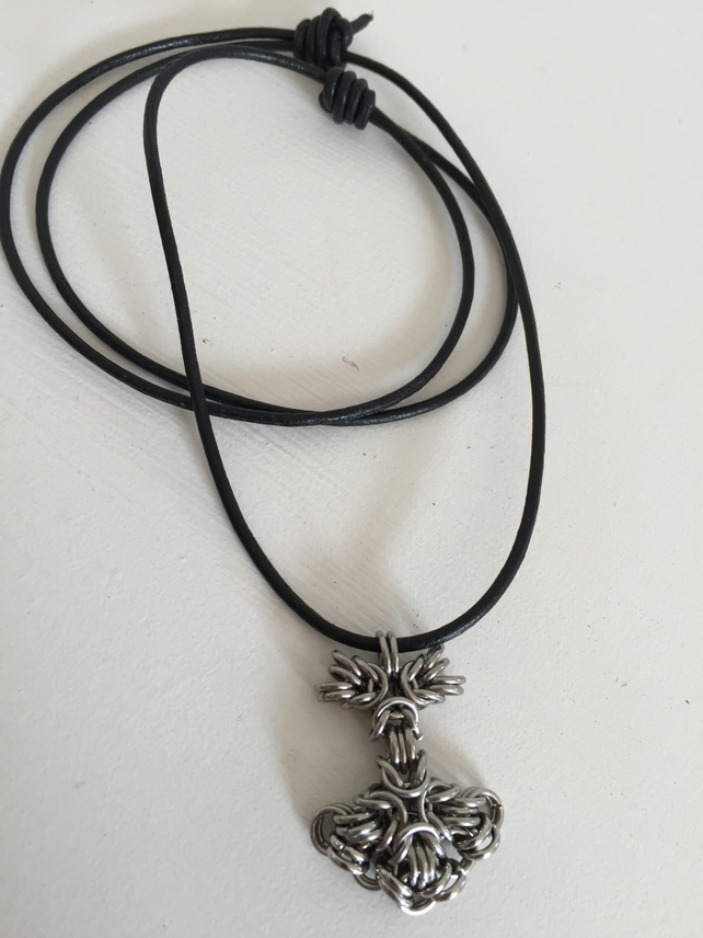Thors Hammer Necklace, Mjolnir Pendant, Gift for LARP Guys