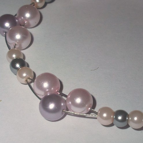 Simply Pearls - Earrings and Bracelet Set