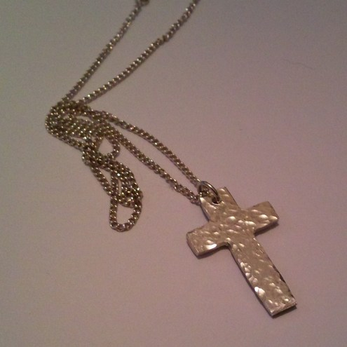 Sterling Silver Cross - Hallmarked