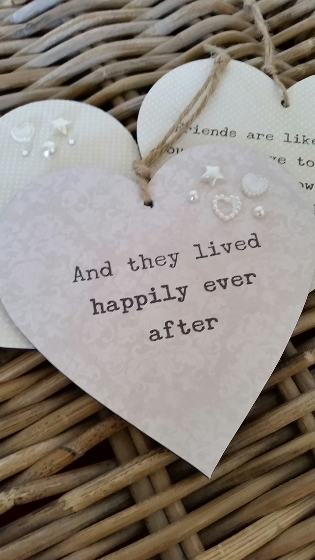 And they lived happily ever after - Hanging heart