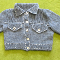 Cute Denim Style Jacket Cardigan for 2 years.