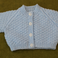 Sweet Pale Blue Cardigan for 3-6 months