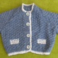 Cute and Stylish Jacket Cardigan in Denim Blue Perfect for 3-6 months.