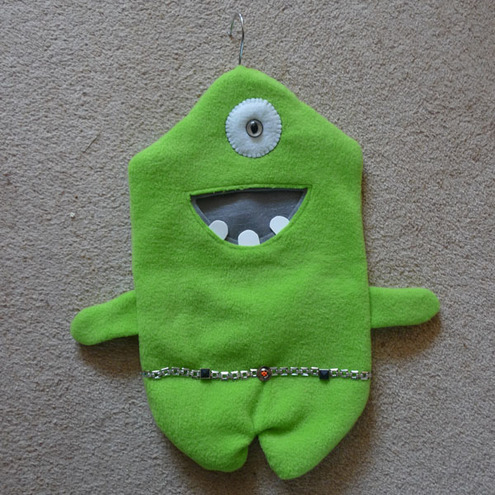 Monster Helper - Name this one eyed monster yourself!