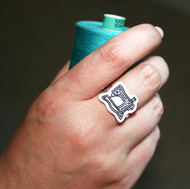sewing machine ring