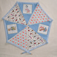 Beatrix Potter Nursery Bunting with Cath Kidston Fabrics