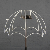 "12"" Reverse Scollop Parachute Lampshade Frame"