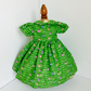 Green Cotton Reel dress